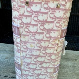 Dior Bags - Authentic Dior Trotter Girly pink Boston bag